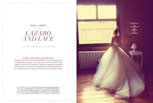 Lazaro Amp Lace Editorial Spread Blush Magazine