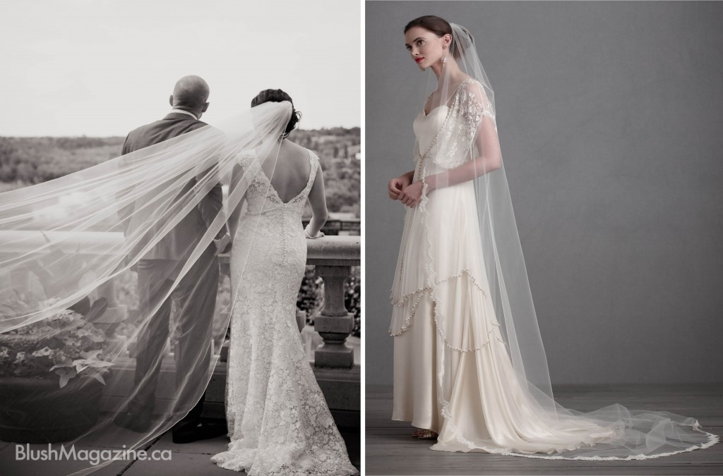 What is Your Veil Style? Cathedral Veils