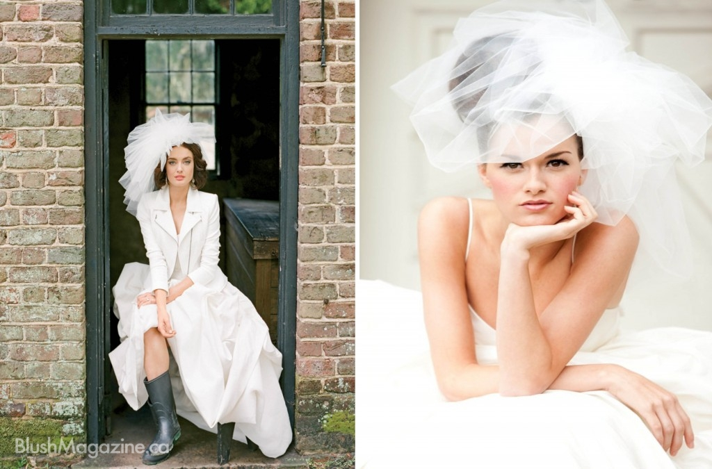What is Your Veil Style? Couture Veil