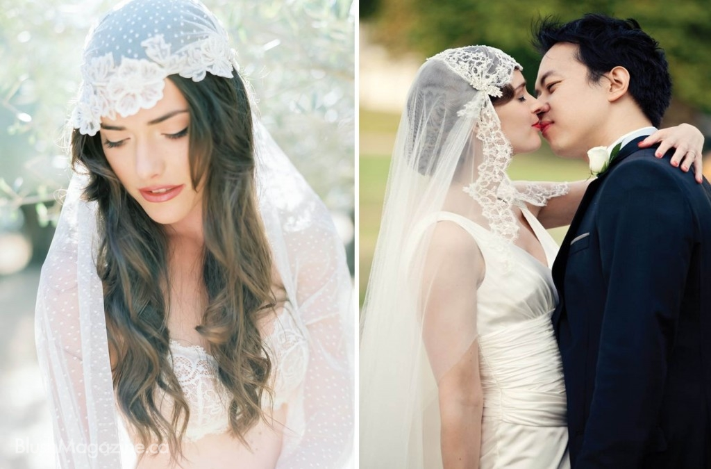 What is Your Veil Style? Juliet Cap