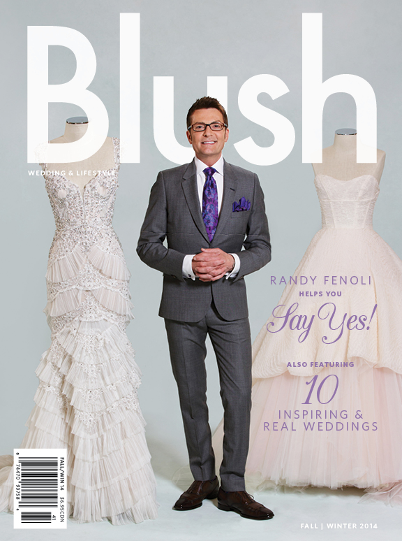Blush Magazine FW 2014 with Randy Fenoli