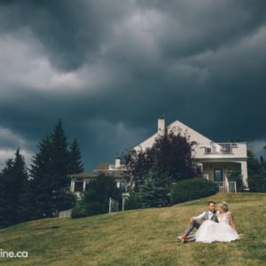 Renee & Devon's Earthy-Romantic Wedding: Before The Storm