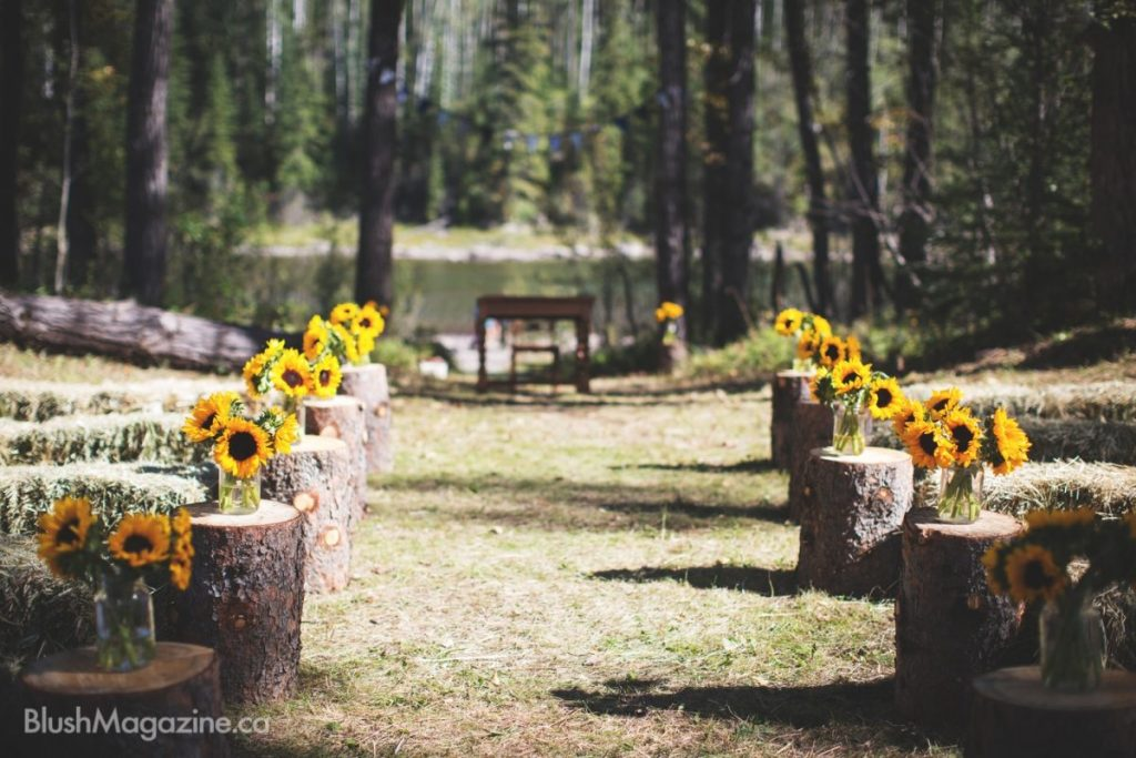 Outdoor Summer Wedding: Kara + Kyle