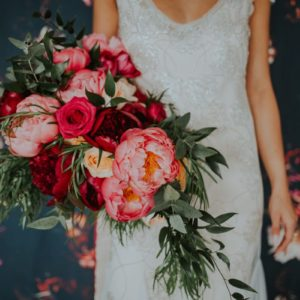 Flowers by Willows
