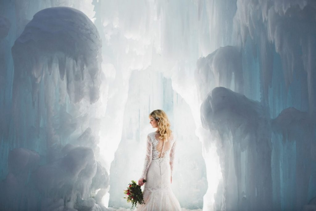 Edmonton Ice Castles Shoot