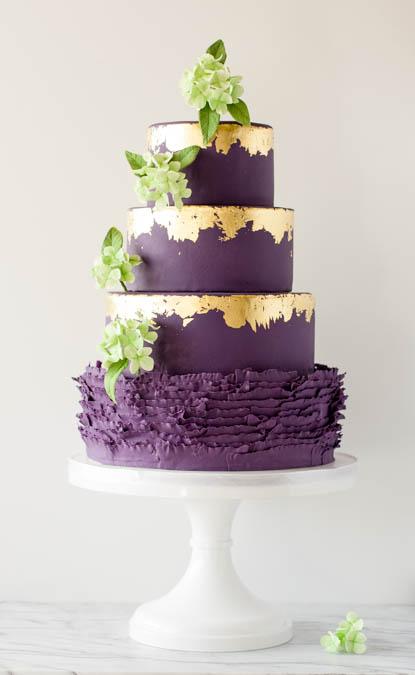 Couture Wedding Cake Boutique Brianne Gabrielle Cakes Edmonton Blush Magazine