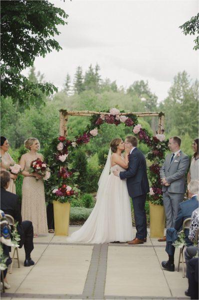 Tiffney Jeff Outdoor Summer Wedding Blush Magazine