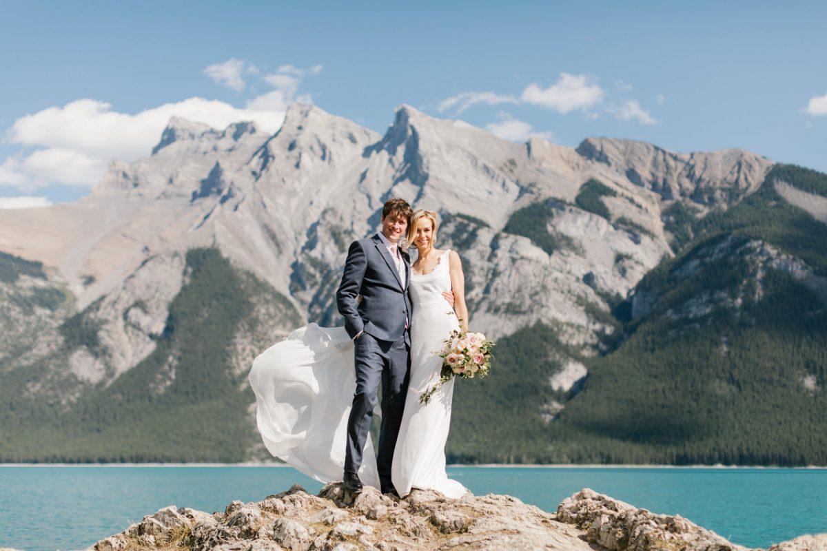 Monika + Jeremy: Outdoor Mountain Wedding