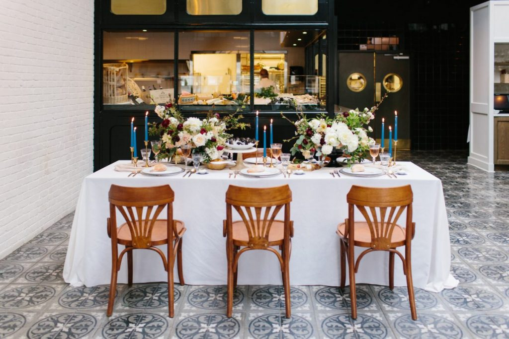 French Brasserie Styled Shoot
