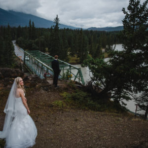 Kailey + David: Summer Jasper Wedding - First Look