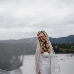 Kailey + David: Summer Jasper Wedding - Mountain Bride