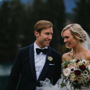 Kailey + David: Summer Jasper Wedding - Bride and Groom