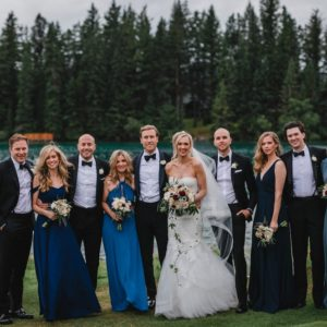 Kailey + David: Summer Jasper Wedding - Bridal Party
