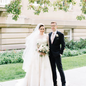 Lindsey + Anthony: Traditional British Wedding - BRide and Groom