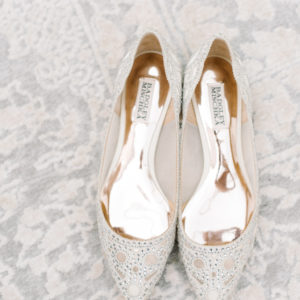Traditional British Wedding - Badgley Mischka Shoes
