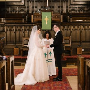 Lindsey + Anthony: Traditional British Wedding - Church