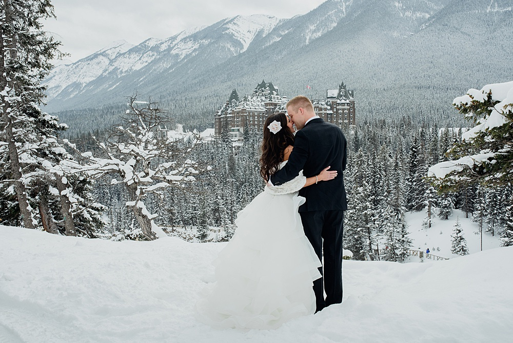 Fairmont Banff Springs Winter Wedding
