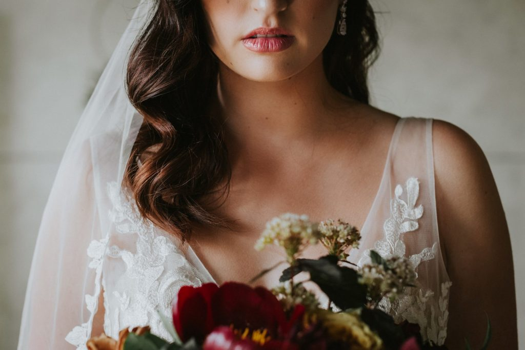 Bridal Hair and Makeup: Romantic