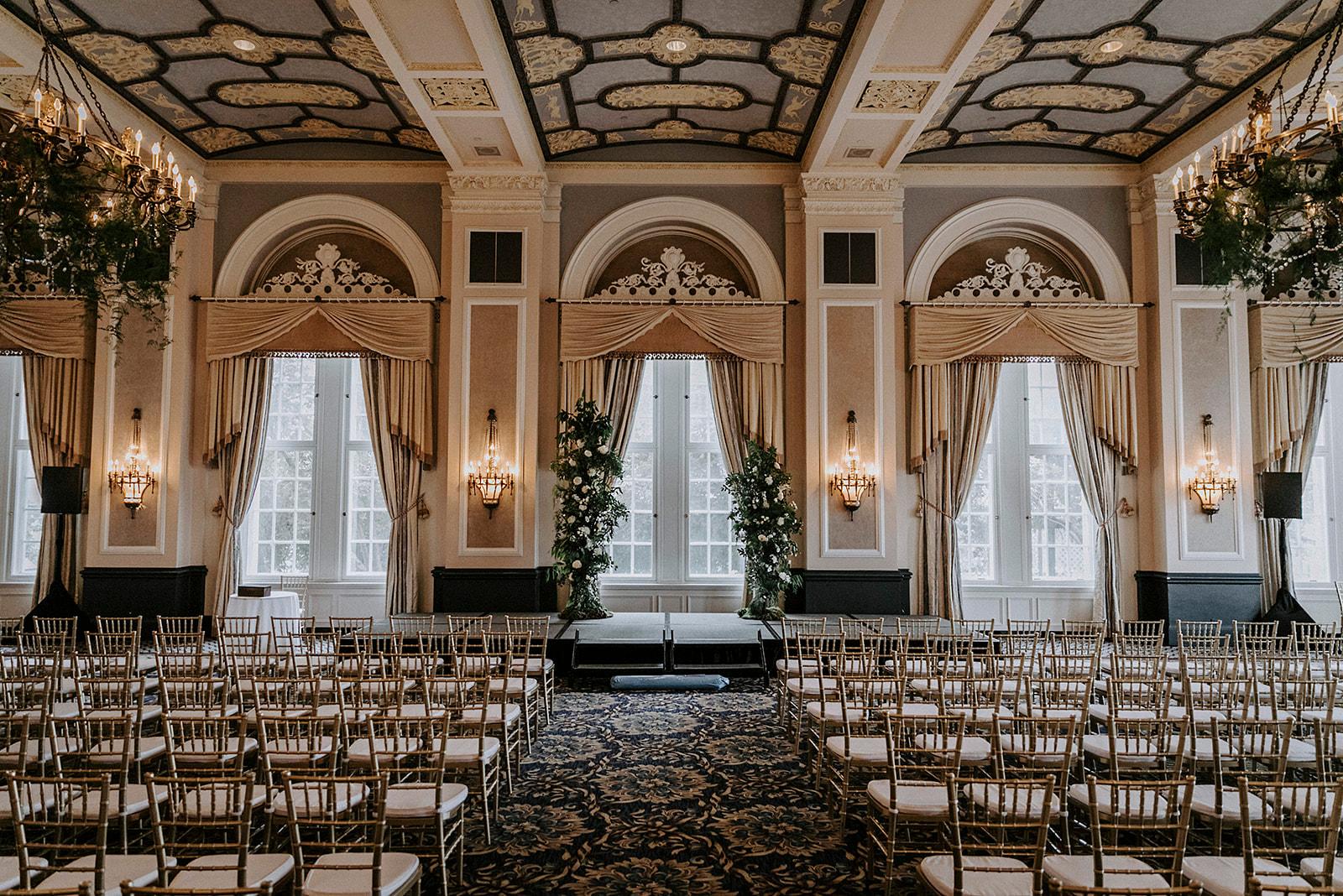 Fairmont Hotel Macdonald Ceremony