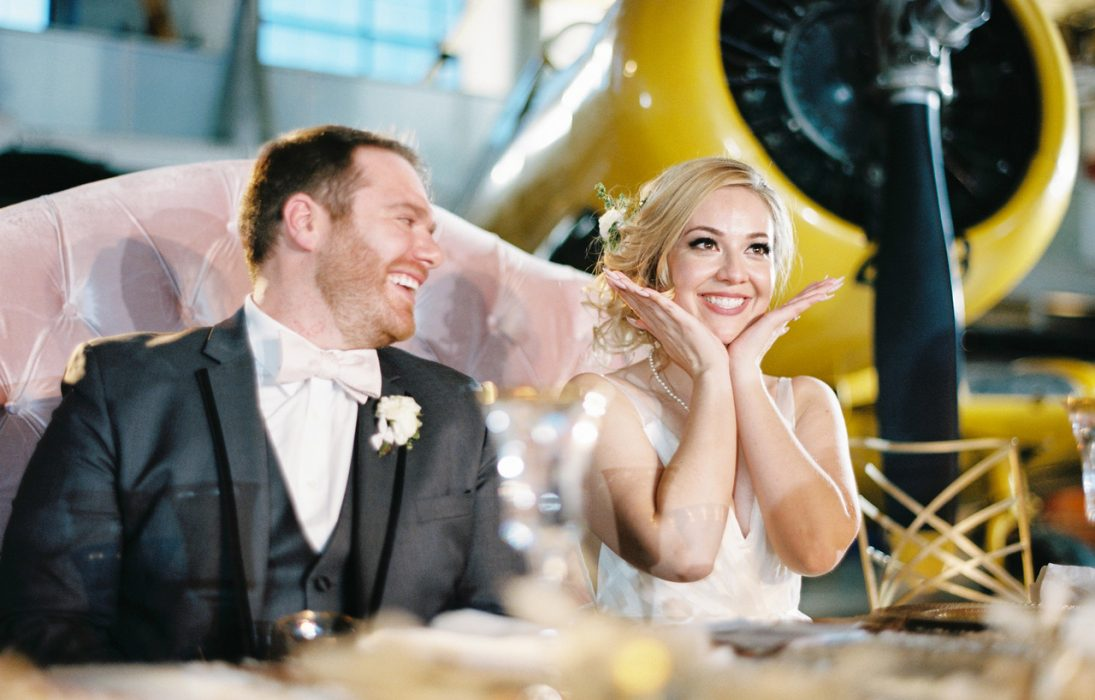 Aviation Themed Wedding
