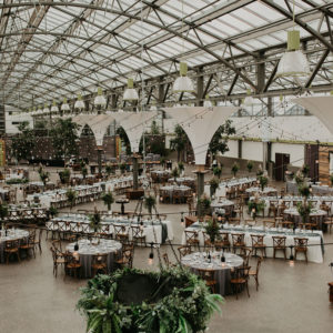 Lush Greenhouse Weddingv